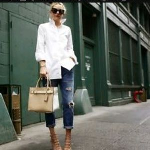 Ag The Tomboy Relaxed Straight Jeans